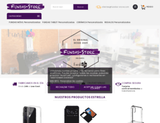 fundas-store.com screenshot