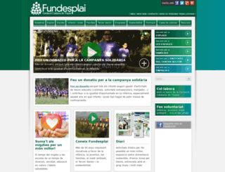 fundesplai.org screenshot