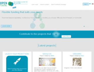 funding.openinitiative.com screenshot