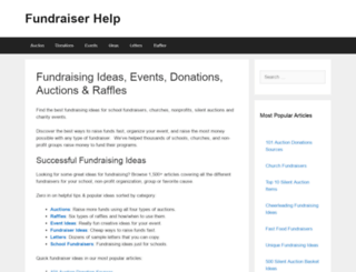 fundraiserhelp.com screenshot