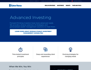 funds.eatonvance.com screenshot