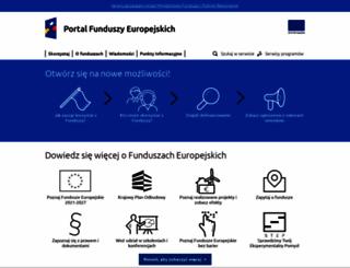 funduszestrukturalne.gov.pl screenshot