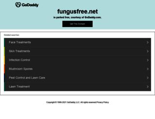 fungusfree.net screenshot