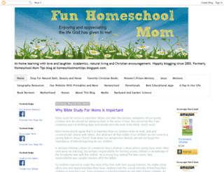 funhomeschoolmom.com screenshot