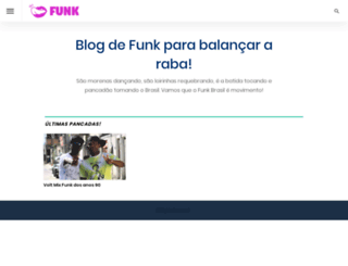 funk.blog.br screenshot