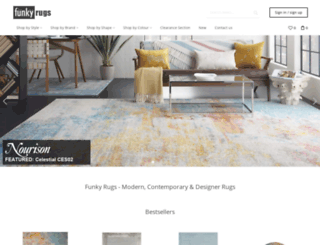 funkyrugs.co.uk screenshot