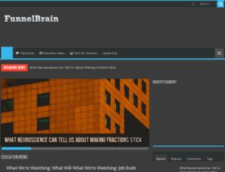 funnelbrain.com screenshot