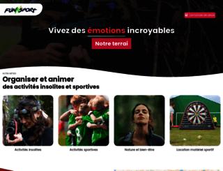 funnsport.com screenshot