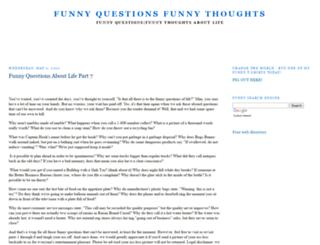 funny-questions.blogspot.com screenshot