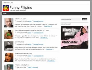 funnyfilipino.com screenshot