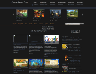 funnygamefree.blogspot.com screenshot