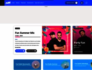 funradio.fr screenshot
