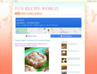 funrecipeworld.blogspot.com.br screenshot