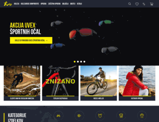 funsports.si screenshot