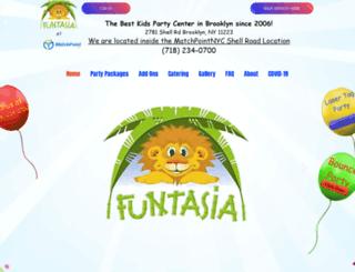 funtasianyc.com screenshot