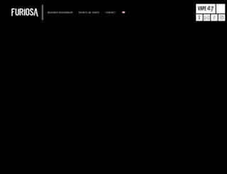 furiosa.co screenshot