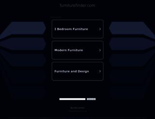 furniturefinder.com screenshot