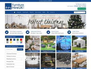 furniturehireuk.com screenshot