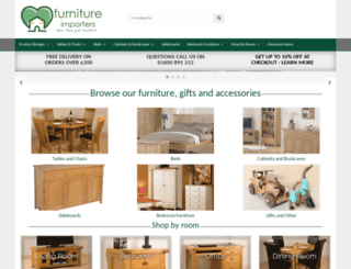 furnitureimporters.co.uk screenshot
