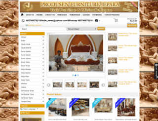 furniturejatiminimalis.com screenshot