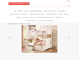 furniturewelove.com screenshot