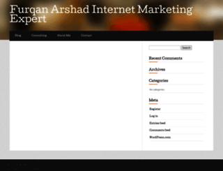 furqanarshad.wordpress.com screenshot