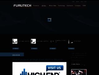 furutech.com screenshot