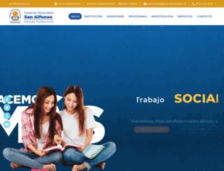 fusa.edu.co screenshot