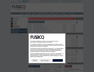 fusacq.com screenshot