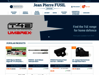fusil-calais.com screenshot