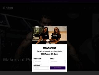 fusionbodybuilding.com screenshot