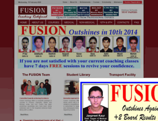 fusioncoaching.in screenshot