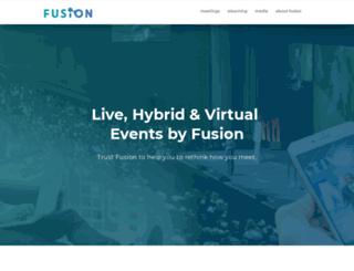 fusionproductions.com screenshot