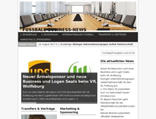 fussball-business-news.de screenshot