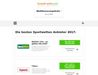 fussball-wette.com screenshot