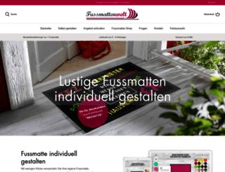 fussmatten-welt.de screenshot