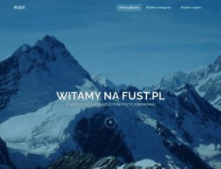 fust.pl screenshot