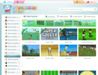 futbol.oyunlarinioyna.org screenshot