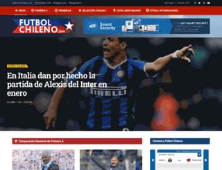 futbolchileno.com screenshot