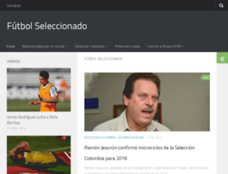 futbolseleccionado.com screenshot