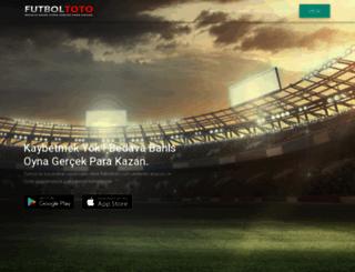 futboltoto.com screenshot