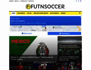 futnsoccer.com screenshot