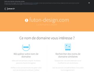 futon-design.com screenshot
