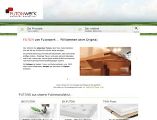 futonwerk.ch screenshot