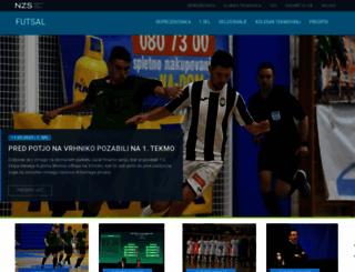 futsal.si screenshot