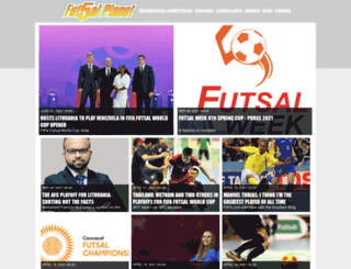 futsalplanet.com screenshot