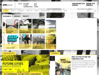 futurecities.ethz.ch screenshot