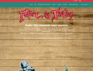 futureisfiction.com screenshot
