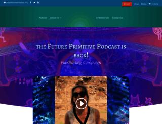futureprimitive.org screenshot