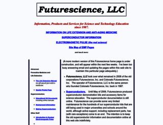 futurescience.com screenshot